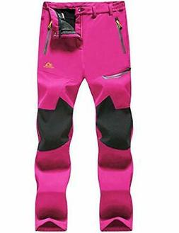 MAGCOMSEN Snowboard Pants Women Ski Pants Fleece Lined Pants