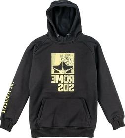 Rome Snowboard Riding Pullover Windproof Hoodie Men's Large