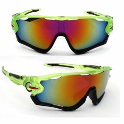 Sunglasses Lime Green Bike Sun Glasses Triathlon Mountain Cy