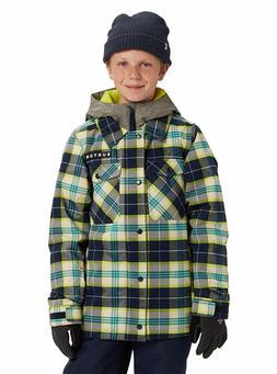 Burton Uproar Snowboard Jacket - Boys - Large, Noreaster Pla