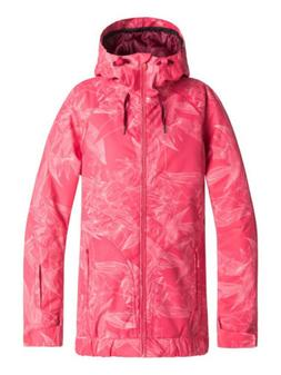 Roxy Valley Hoodie Tea berry Washed Floral Womens Snowboard
