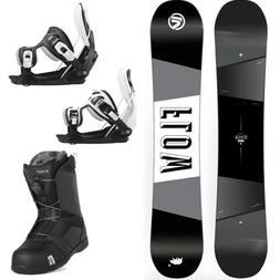 FLOW Viper 158cm Snowboard+2020 Flow Bindings+Nidecker BOA B