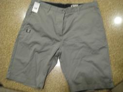 Volcom VMonty Gray Shorts Mens Size 36