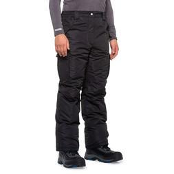 Waterproof Snow Snowboarding Ski Insulated Cargo Pants Black