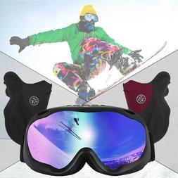 Winter Ski Accessories - Ski / Snowboard Goggles+Cold Weathe