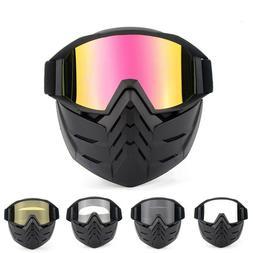 Winter Snow Sports Face Mask Goggles - Ski Snowboard Snowmob