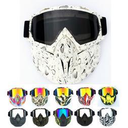 Winter Snow Sports Full Face Mask Goggles Ski Snowboard Snow