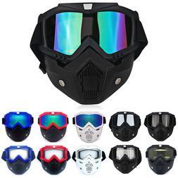 Winter Snow Sports Goggles Ski Snowboard Snowmobile Face Mas