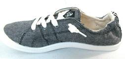 Roxy Women's Bayshore III Slip On Sneaker ShoeS Black  ARJS6