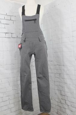 686 Women's Gossip Softshell Bib Snowboard Pants Small, Grey
