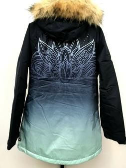 686 Women's Insulated Dream Jacket Snowboard Seaglass Fade M