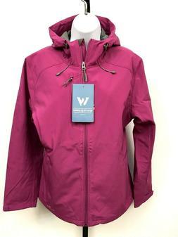 White Sierra Womens Jacket Waterproof Hooded Softshell Large