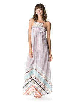 ROXY WOMENS LOST BOHEMIAN PRINT DRESS