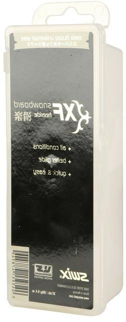 Swix XF Snowboard Wax Fluoro Universal 180 Grams