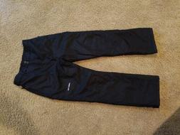 Arctix Youth XL 14-16 Reinforced Snow Pants Kids Black Ski W